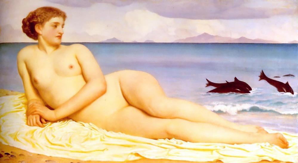 1868_Frederic_Leighton_-_Actaea