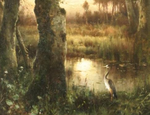 Edward Moran_Estuary at Twilight