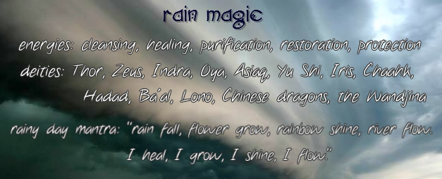 rain magic graphic