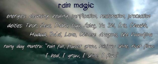 rain magic graphic