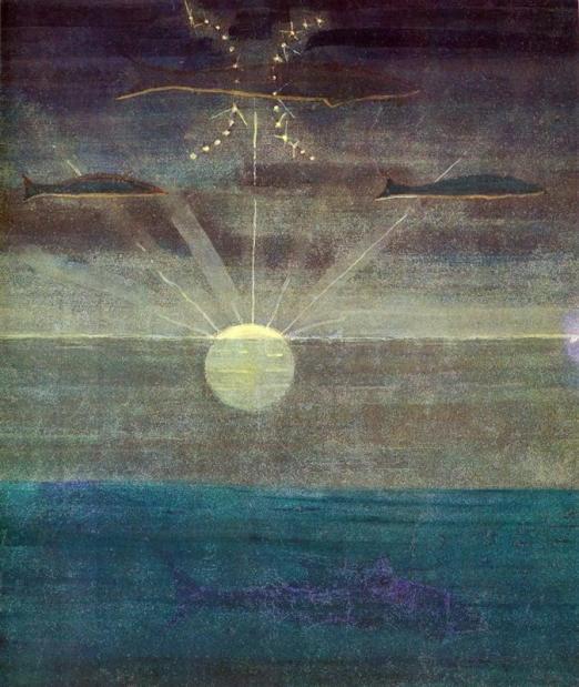 pisces-1907 Mikalojus Konstantinas Ciurlionis