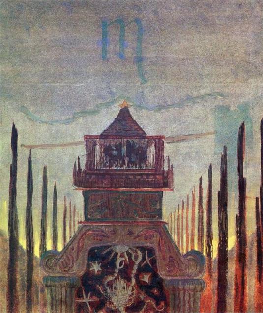 scorpio-1907.jpg!HalfHD Mikalojus Konstantinas Ciurlionis