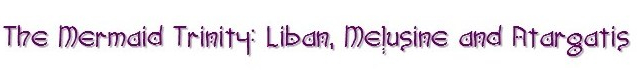 mermaid trinity purple graphic