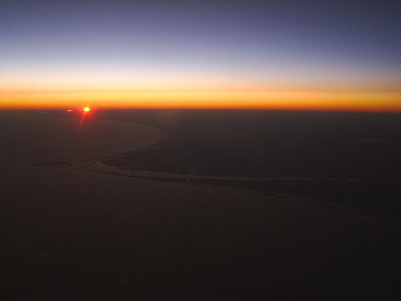 Cape_Fear_Sunset by Sarunas Burdulis